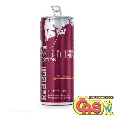 ENER.NÁPOJ RED BULL PLECH WINTER edition