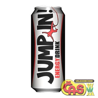 Energy drink Jump In! plech 500ml