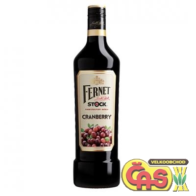 FERNET STOCK CRANBERRY 0.5l 27%