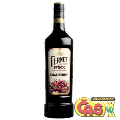 FERNET STOCK CRANBERRY 1l  27%