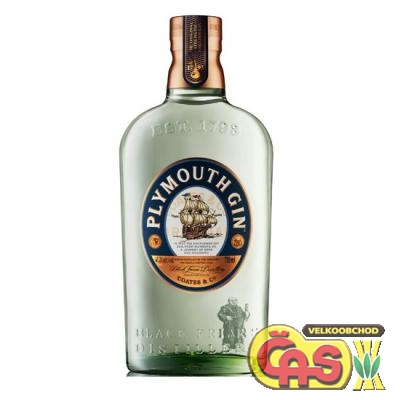 GIN - PLYMOUTH 0.7l     41.2%