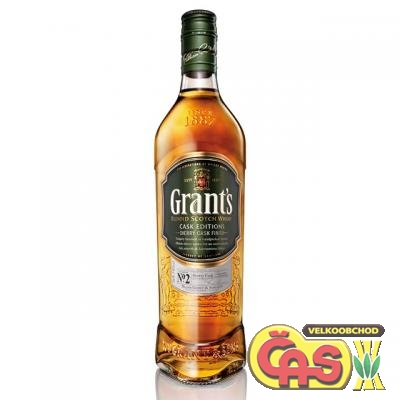 GRANTS - SHERRY CASK  0.7l 40%