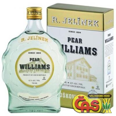 HRUŠKOVICE WILLIAMS SET  0.7l 42%