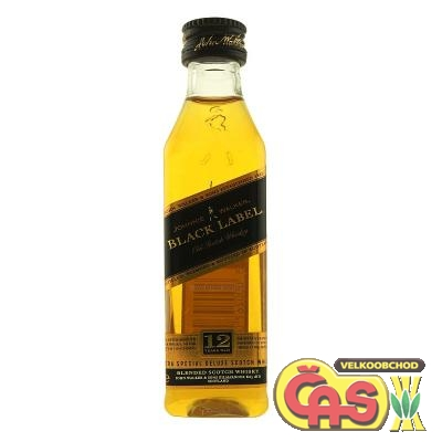 JOHNNIE WALKER - BLACK MINI 0.05l 40%