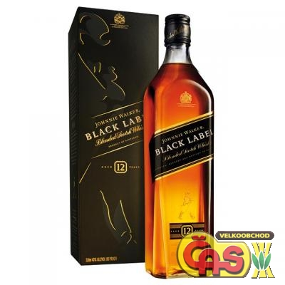 JOHNNIE WALKER - BLACK BOX 0.7l 12-letá 40%