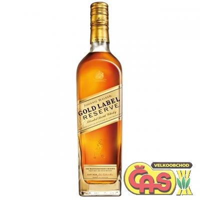 JOHNNIE WALKER GOLD LABEL 18-letá 0.7l 40%