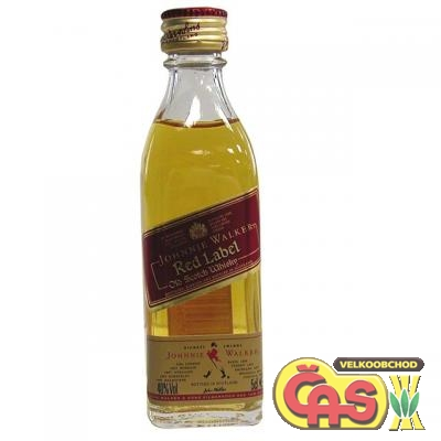 JOHNNIE WALKER - RED  MINI  40%