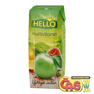 JUICE  HELLO mini MULTIVITAMÍN 0.25l
