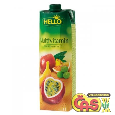 JUICE HELLO MULTIVITAMÍN 1l B