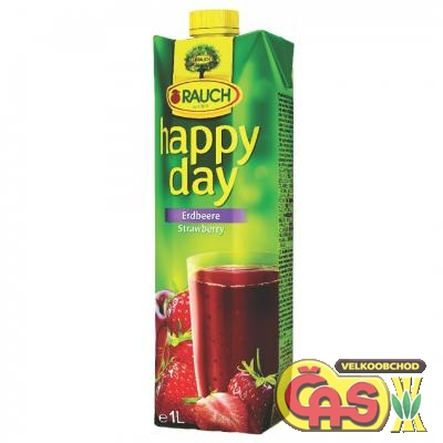 JUICE RAUCH HAPPY DAY JAHODA 1l