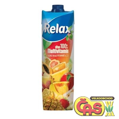 JUICE RELAX SELECT 100% MULTIVITAMÍN 1l