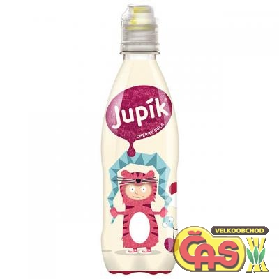 JUPÍK 0.33l CHERRY COLA  PET
