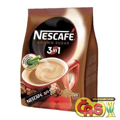 KÁVA NesCafé 3v1 BROWN SUGAR 10x17g