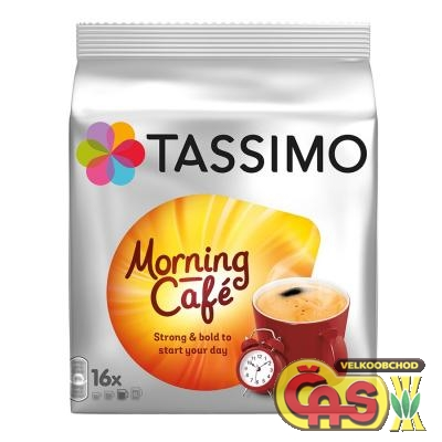 Káva Tassimo Jacobs Morning Cafe 124.8g