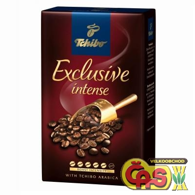 KÁVA TCHIBO EXCLUSIVE INTENSE 250g