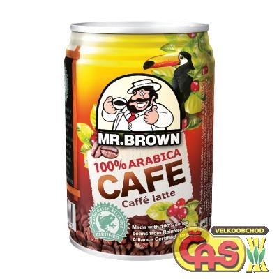 LEDOVÁ KÁVA 0.24l Mr.BROWN Caffe Latte