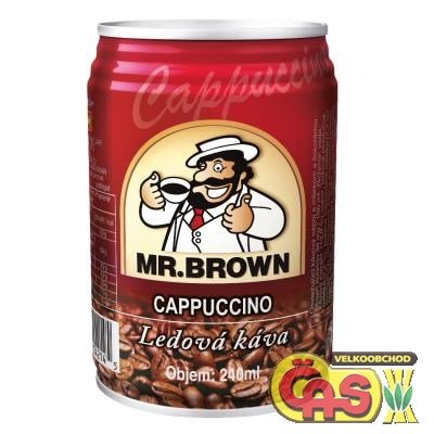 LEDOVÁ KÁVA 0.24l Mr.BROWN Cappuccino