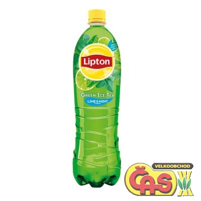 Ledový èaj Lipton 1.5l Ice Tea lime+mint PET