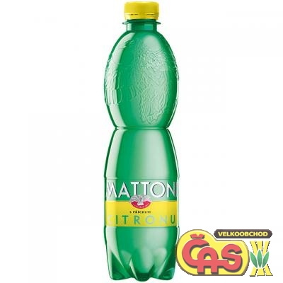 MATTONI 0.5l PET CITRÓN