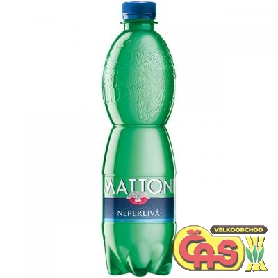 MATTONI 0.5l PET  NEPERLIVÁ