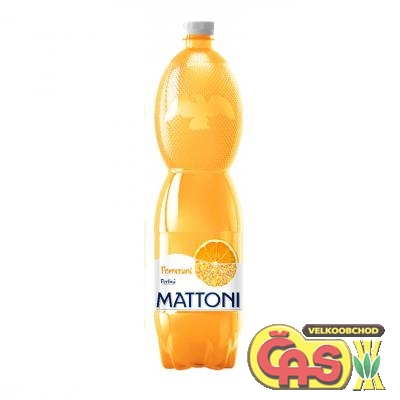 MATTONI 1.5l CITRON PET