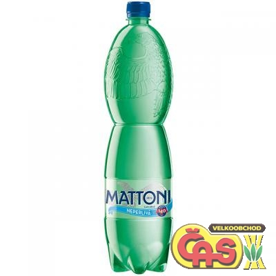 MATTONI 1.5l -  NEPERLIVÁ PET