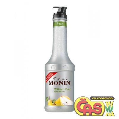 Monin puree hruška 1l