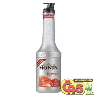 MONIN Puree Strawberry 1l pyréé
