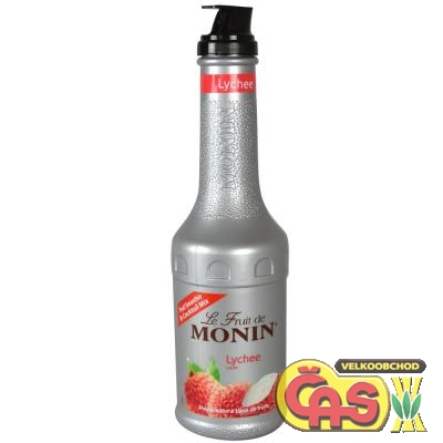 MONIN Puree LITCHI pet 1l