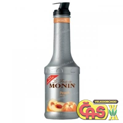 MONIN Puree Peach 1l pet pyréé
