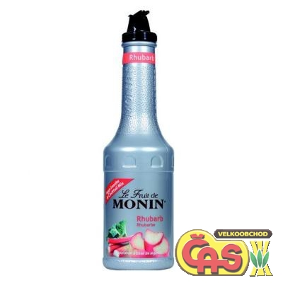 MONIN Puree REBARBORA  1l