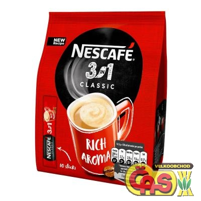 Káva Nescafe 3in1 10x16.5g