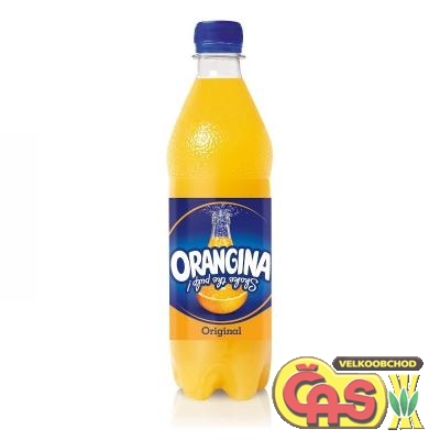 ORANGINA 0,5l žlutá regular PET