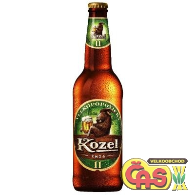 PIVO  KOZEL MEDIUM 0.5l 11%-sklo
