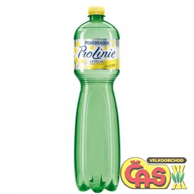 PODÌBRADKA 1.5l CITRON LINIE PET