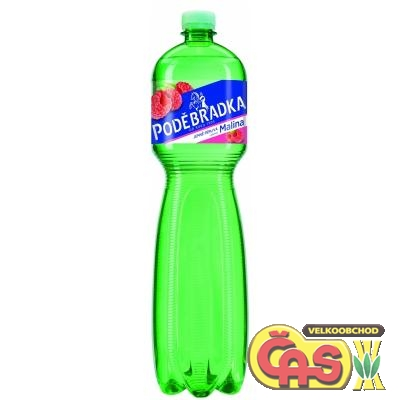 PODÌBRADKA 1.5l MALINA PET