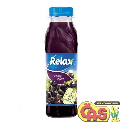 RELAX  0.3l �ERN� RYB�Z   PET