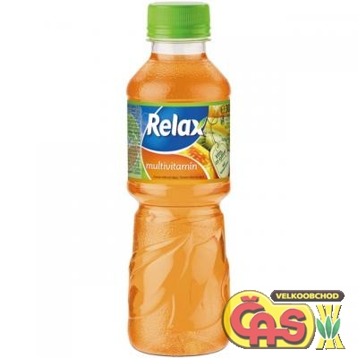RELAX  0.3l MULTIVITAMÍN PET