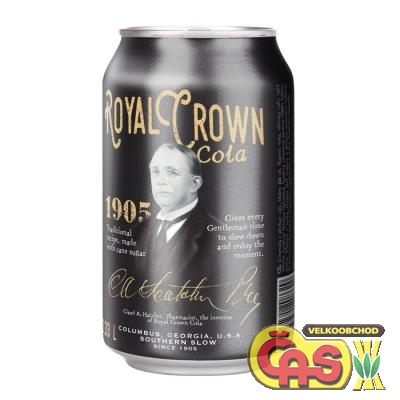 ROYAL CROWN 0.33l COLA PLECH