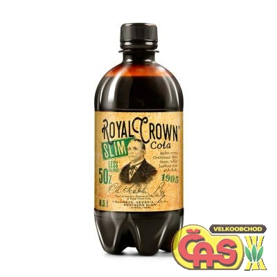 ROYAL CROWN 0.5l COLA SLIM PET