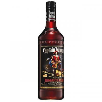 RUM CAPTAIN MORGAN BLACK SPICED 0.7l 40%