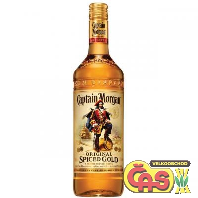 RUM CAPTAIN MORGAN SPICED 0.5l 35%