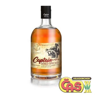 RUM CAPTAIN GOLD SPICED 0.7L 35%