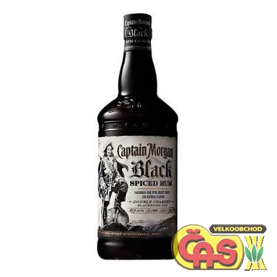 RUM CAPTAIN MORGAN BLACK SPICED 1l 40%