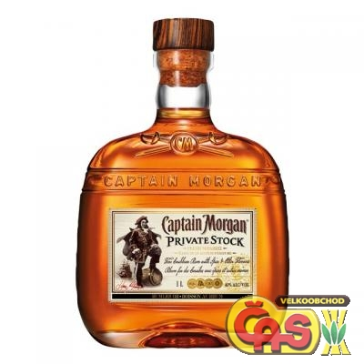 RUM CAPTAIN MORGAN PRIVATE STOCK 1l 40%