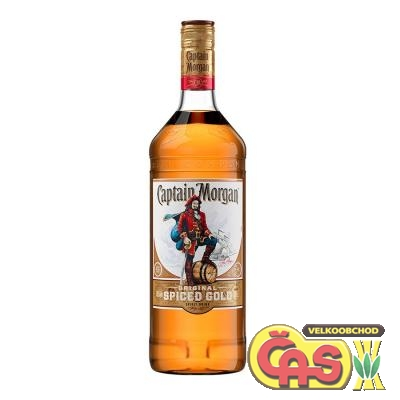 RUM CAPTAIN MORGAN SPICED 1l 35%