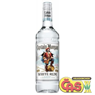 RUM CAPTAIN MORGAN WHITE 1l 37.5%