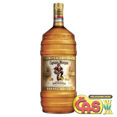 RUM CAPTAIN MORGAN SPICED GOLD BARREL 1.5l 35%