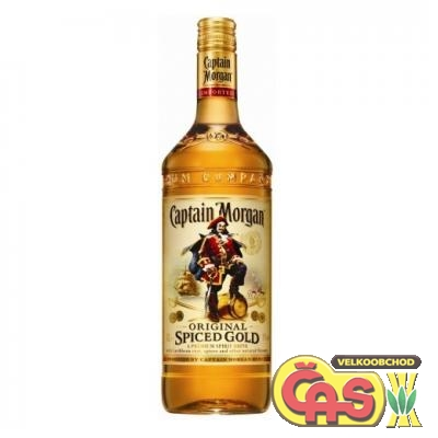 RUM CAPTAIN MORGAN SPICED 3l  35%