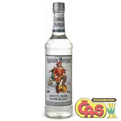 RUM CAPTAIN MORGAN WHITE 0.7l 37.5%